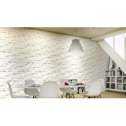 Quadrat Gypsum Plaster 3D Wall Panels
