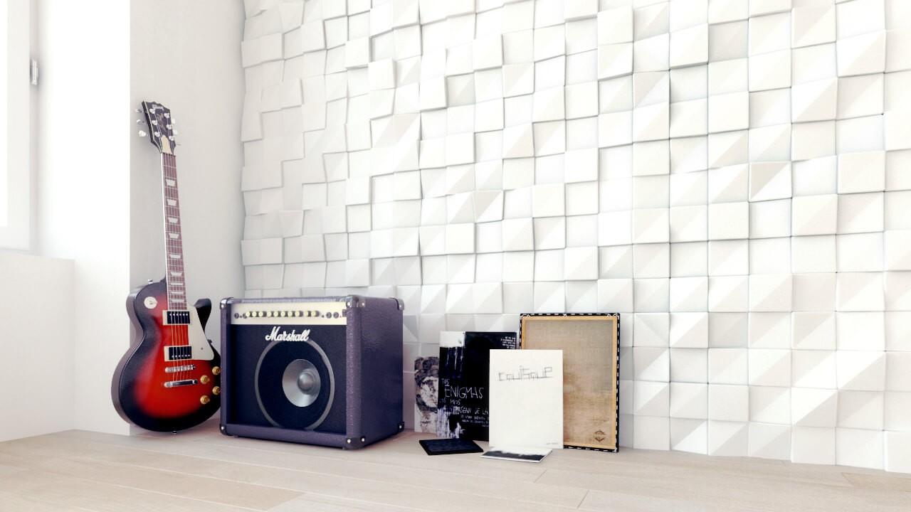Brand new Eco Gypsum Plaster & MDF - 3D WALL PANELS UK SP36