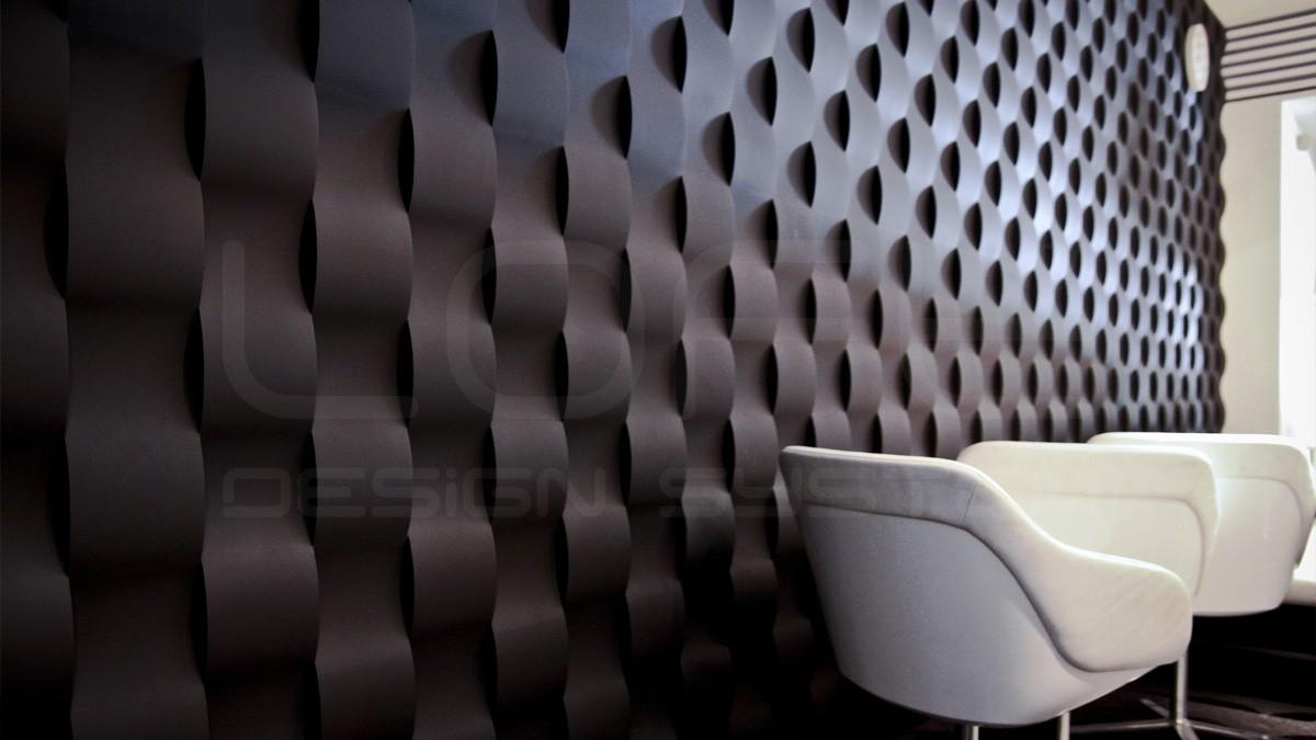Twist Gypsum Plaster 3D Wall Panels