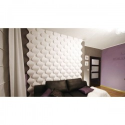 Rain Drop 3D Wall Panels