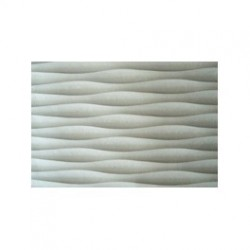Linear Wave MDF 3D Wall Panel