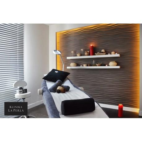 Zefiro S Gypsum Plaster 3D Wall Panels
