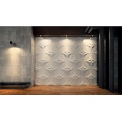 Polaris Gypsum Plaster 3D Wall Panels